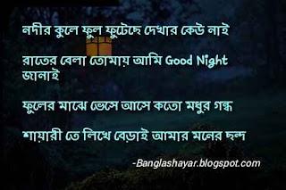 bengali good night message
