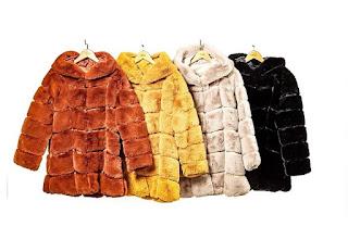 bbigliamento donna Inverno 2019-20, pellicce ecologiche