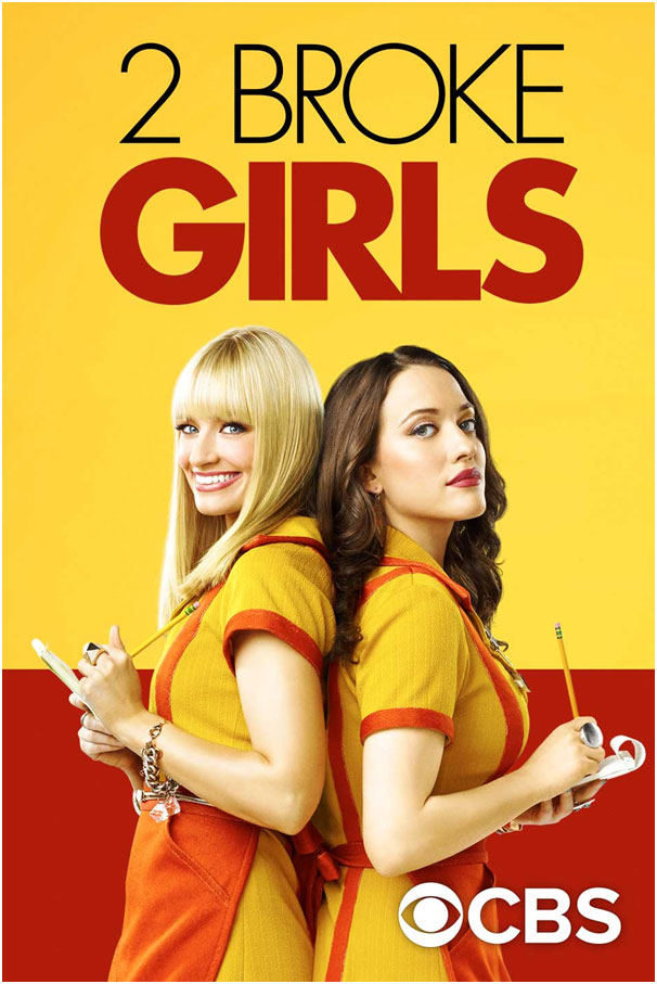 2 Broke Girls: Top 5 Comedy Sitcoms Could Make You Bust A Gut Laughing: eAskme