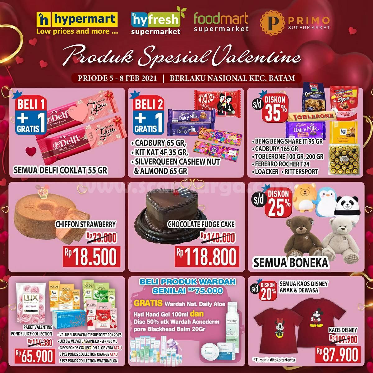 HYPERMART Promo Produk Spesial VALENTINE! Diskon hingga 35%