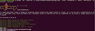 Tor com SQLMAP Téchne Digitus