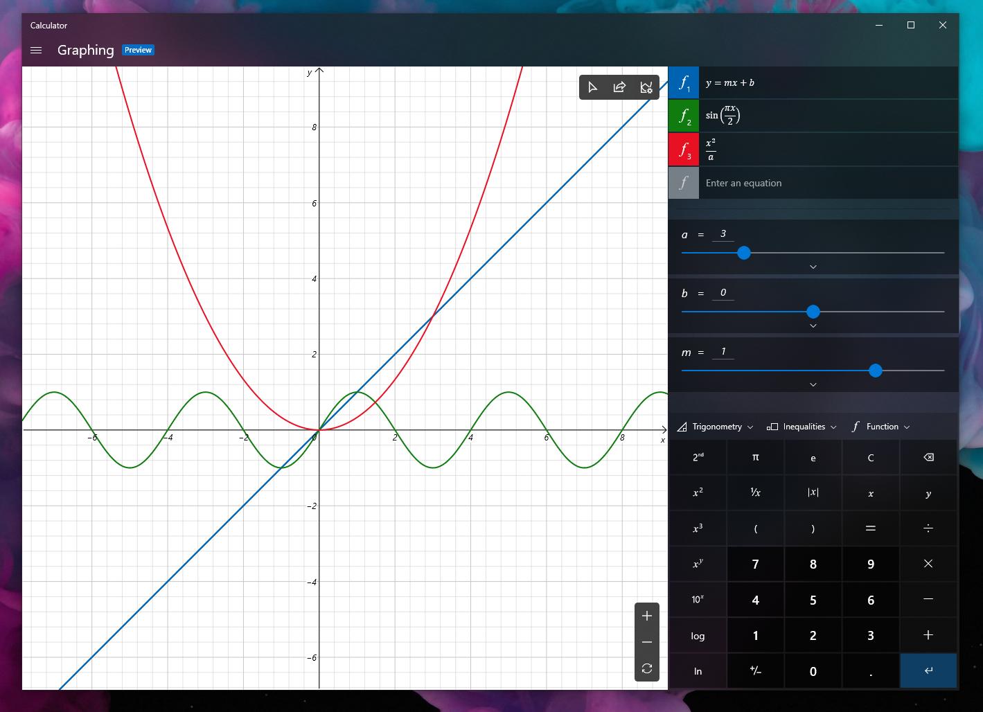 Calcolatrice-Windows-modalità-grafica