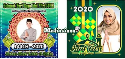 Kartu Ucapan Lebaran Idul Fitri 2020