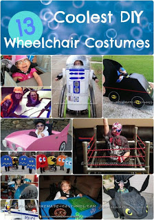 Disfraz para personas en silla de ruedas