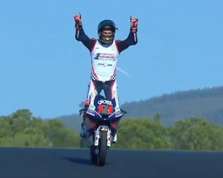 Albert Arenas campeon mundo Moto3 temporada 2020