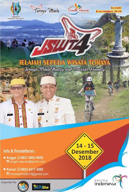 Komunitas Sepeda Asal England dan Australia, Akan Ikut JSW Toraya Maelo, Kamu Gak Ikutan..?