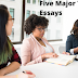 Five Major Types Of Essays