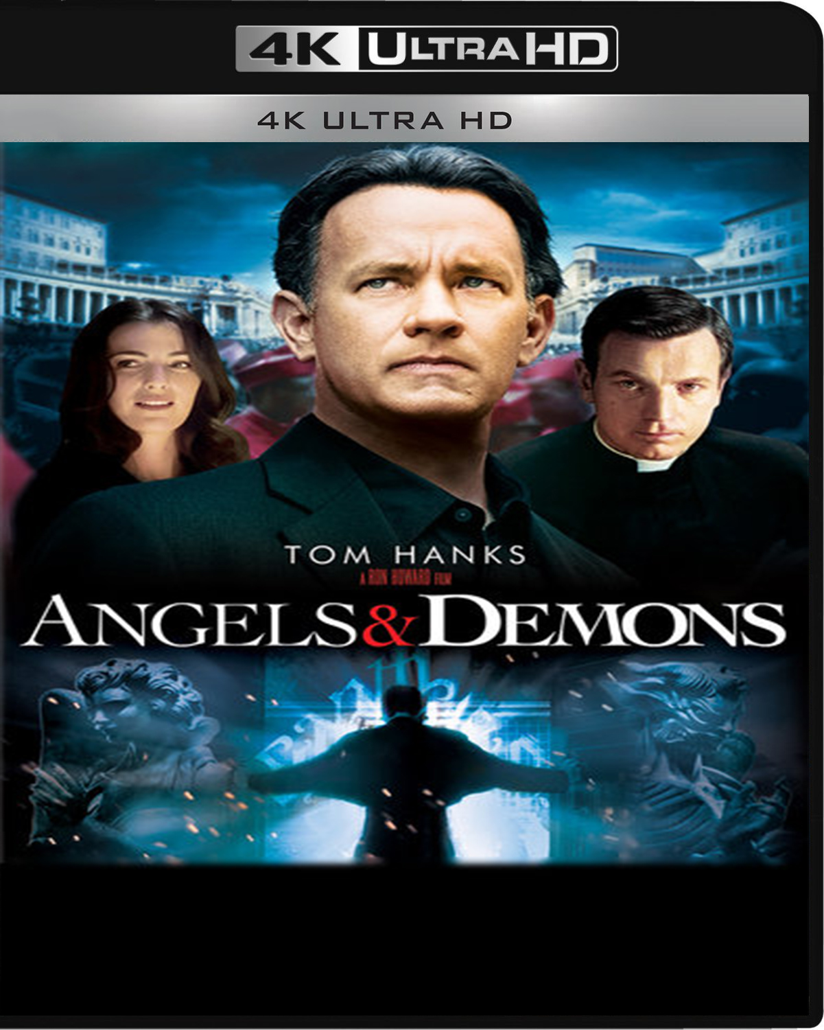Angels & Demons [2009] [UHD] [2160p] [Latino]