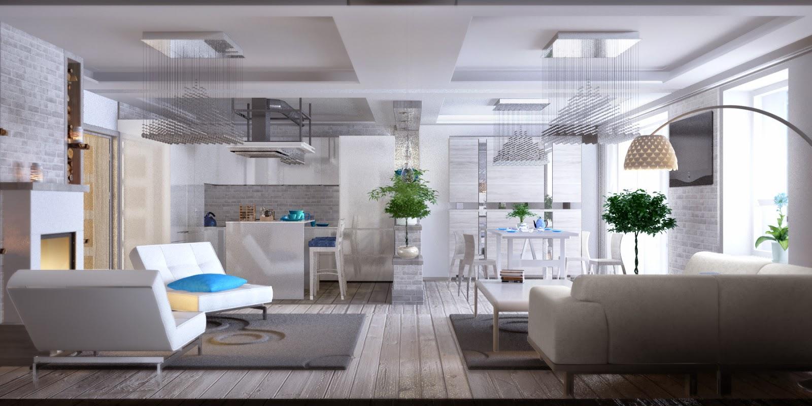 Цветовая схема квартиры