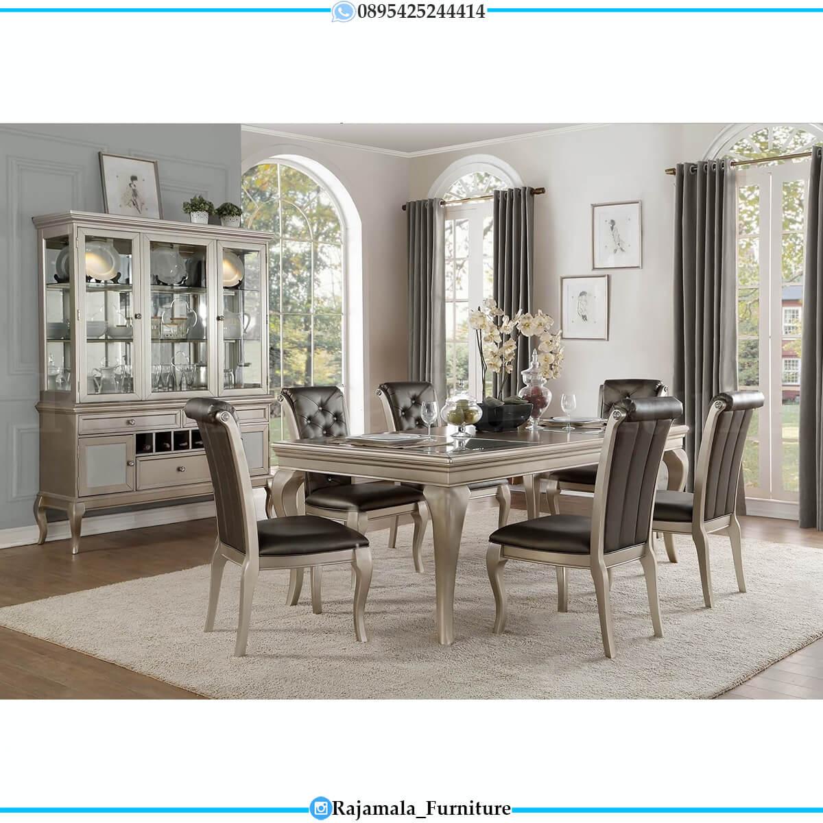 Jual Meja Makan Minimalis Terbaru Elegant Style Furniture Jepara RM-0722