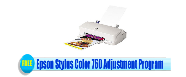 Epson Stylus Color 760 Adjustment Program