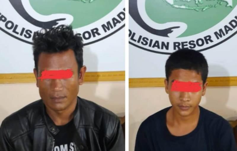 Polres Madina Amankan Dua Orang Pelaku Tindak Pidana Narkotika