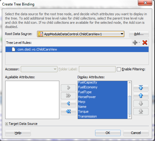 Unwinding ADF: Configure Comparison Of Row Objects At Run Time