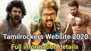 Tamilrockers full hd movies download Website 2020.