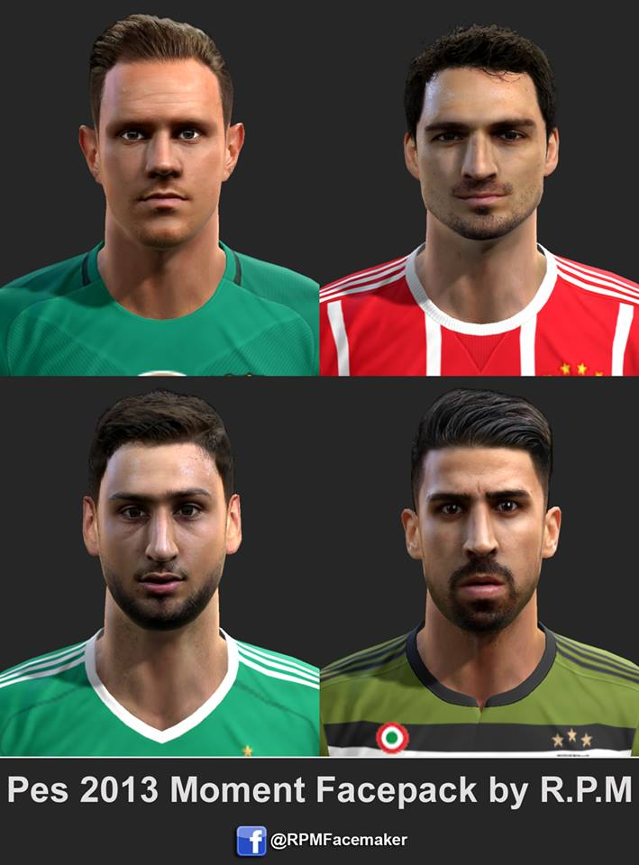 Pes 2013 Moment Facepack by R.P.M