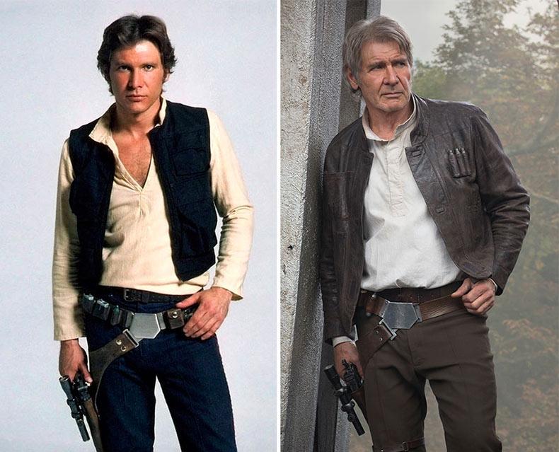 Star Wars, el entonces y ahora