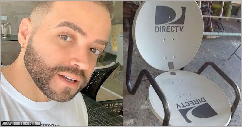 Nacho nos enseña a hacer una silla con las antenas del DirecTV