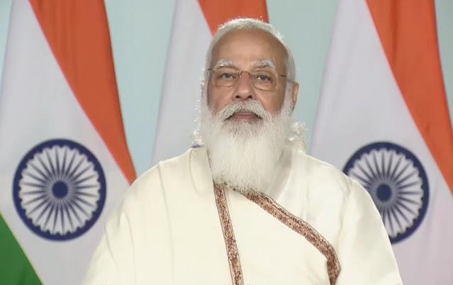 प्रधानमंत्री ने विश्व भारती दीक्षांत समारोह को किया संबोधित कहा - नई शिक्षा नीति में अनुसंधान और नवाचार पर जोर
