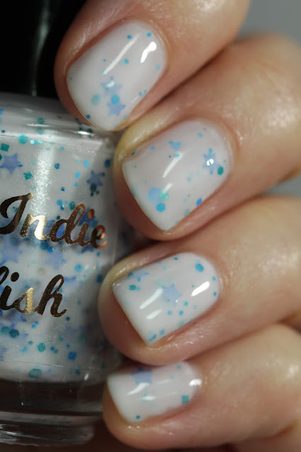 My Indie Polish Snow Shards swatch by Streets Ahead Style