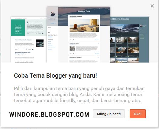Tema Blogger Terbaru Keren