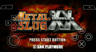 METAL SLUG XX ISO PPSSPP