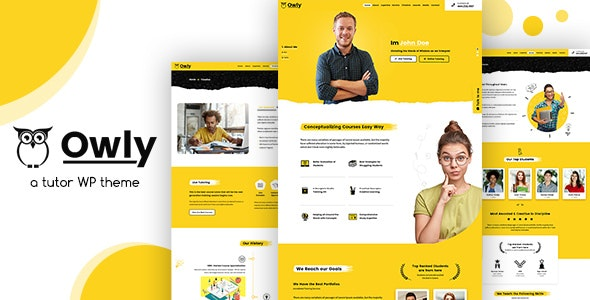 Owly v1.3 - Tutor, Training WordPress, elearning Theme