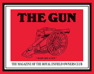 Illustration of The Gun magazine cover.