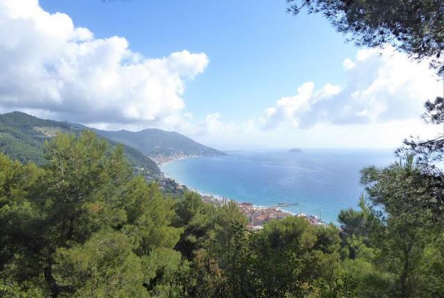 veduta Laigueglia sentiero Liguria