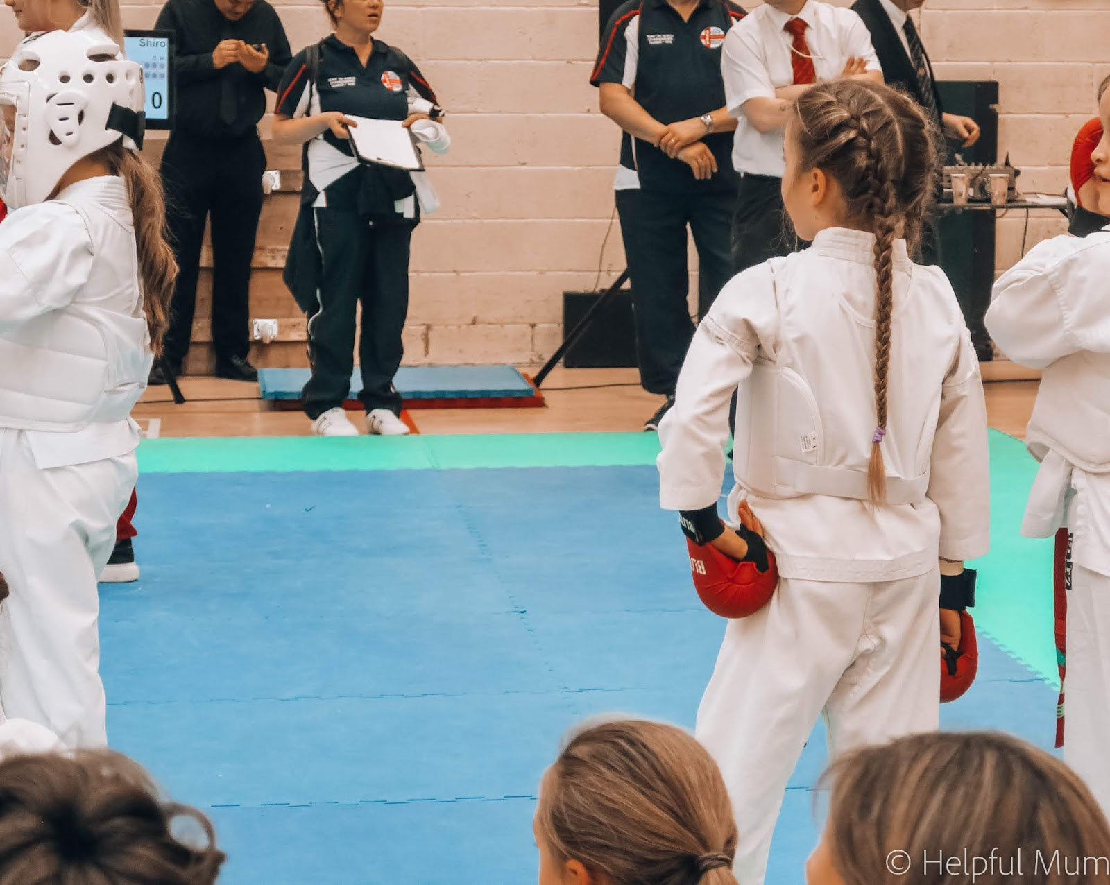 First karate tournament