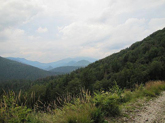Widzimy przed sobą Dolinę Straceńską.
