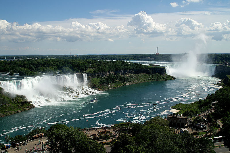 thác nước Niagara Falls ở Mỹ