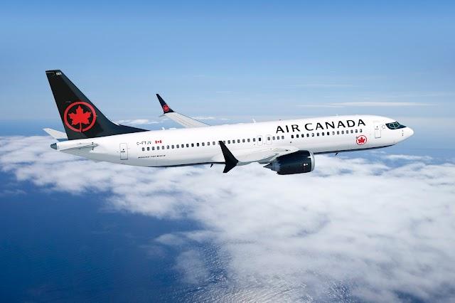 """Air Canada da la bienvenida a su nueva aeronave Boeing 737 MAX 8 El Boeing 737 MAX 8 se encuentra disponible en los servicios para América del Norte 61 aviones se unirán a la flota  MONTREAL, Dic. 11, 2017 /CNW Telbec/ -La aerolínea Air Canada estrenó su más reciente aeronave Boeing 737 MAX 8 en su vuelo AC137, con la ruta Toronto a Calgary, el primero en ser operado por este nuevo avión de 169 asientos; seguido de los servicios Calgary a Montreal y Montreal a Vancouver. """"Introducir un nuevo tipo de avión a la flota es siempre emocionante para una aerolínea, sabemos que los clientes estarán muy encantados con el Boeing 737 MAX, que se convertirá en el pilar de nuestra flota norteamericana de fuselaje estrecho. Con esta nueva aeronave estamos introduciendo la próxima generación de nuestro sistema de entretenimiento a bordo, donde los clientes encontrarán mayor espacio de almacenamiento para el equipaje de mano en sus generosos contenedores aéreos"""", dijo Benjamin Smith, Presidente de Passenger Airlines en Air Canada. El Boeing 737 MAX 8 también es más eficiente en el consumo de combustible y más silencioso que los aviones anteriores de fuselaje estrecho que reemplazará, lo cual beneficia al medio ambiente. Esta característica permitirá competir de manera más eficaz y ofrecerá a la aeronave capacidades de rango extendido para que la aerolínea lance nuevos destinos en ciudades dentro de Norteamérica y rutas para seleccionar destinos internacionales. Combinado con la flota de aviones Boeing 777 y Boeing 787 Dreamliner, el Boeing 737 MAX asegurará que Air Canada siga teniendo una de las flotas más modernas entre las compañías aéreas globales. La aerolínea recibirá 61 aviones 737 MAX antes de 2021, y 18 de los cuales se integraran a la flota de Air Canada a finales de 2018. Los primeros vuelos regulares en Norteamérica incluyen Toronto, Calgary, Vancouver y Montreal. Además está previsto que la aeronave opere internacionalmente en Keflavik, Islandia; Dublín y Shannon en Ir"""