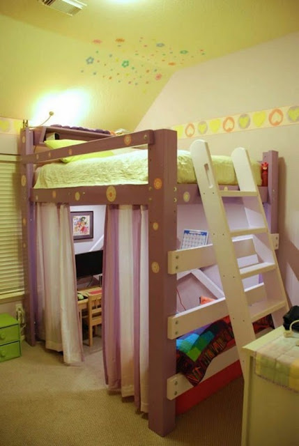 Bunk Bed For Youths In Designer Room