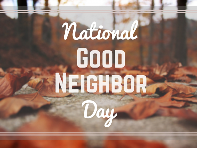 National Neighbor Day Wishes For Facebook