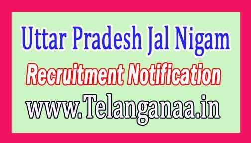 Uttar Pradesh Jal Nigam UPJN Recruitment Notification 2017