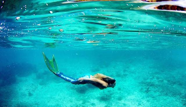Resmi Di Buka, Kelas Berenang Dengan Sensasi Bak Ikan Duyung