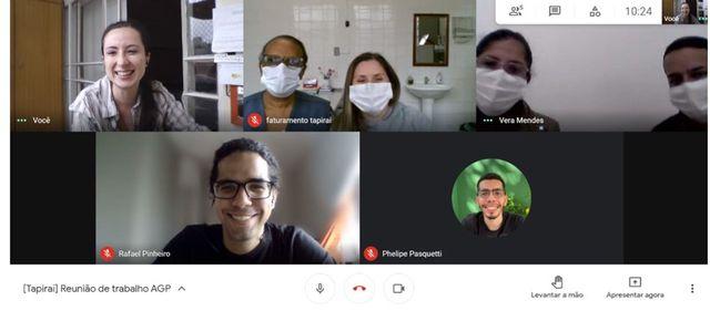 Tapiraí recebe mentoria e apoio em saúde no  enfrentamento à pandemia