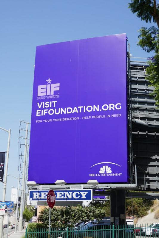 Visit EIFoundation NBC Entertainment FYC billboard