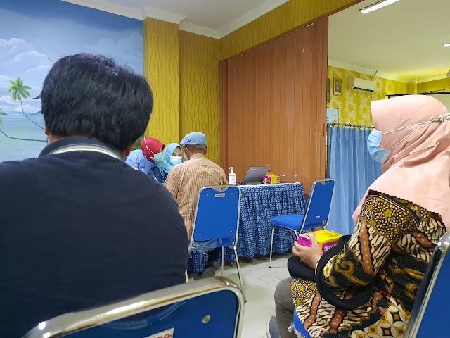 vaksin covid 19, Astrazeneca, RS Asyiyah Siti Fatimah