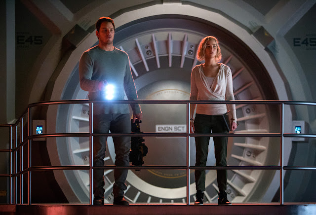 """Pratt and Lawrence Featured in """"Passengers"""" First-Ever Trailer"""