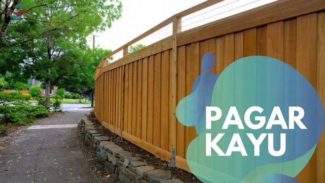 material kayu untuk pagar rumah
