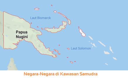Negara-Negara di Kawasan Samudra- Oceania