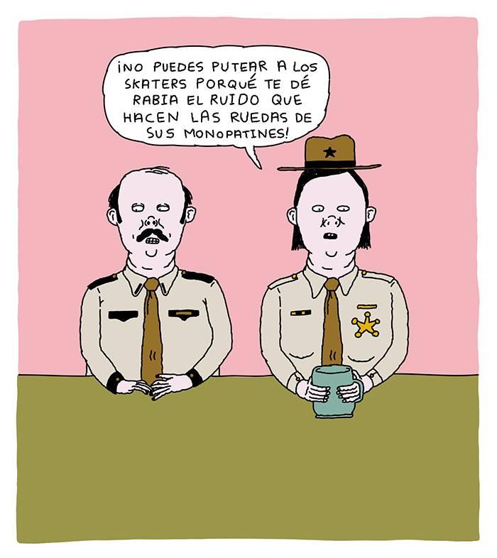 MI PERRA REENCARNADA EN SEÑOR POLICÍA