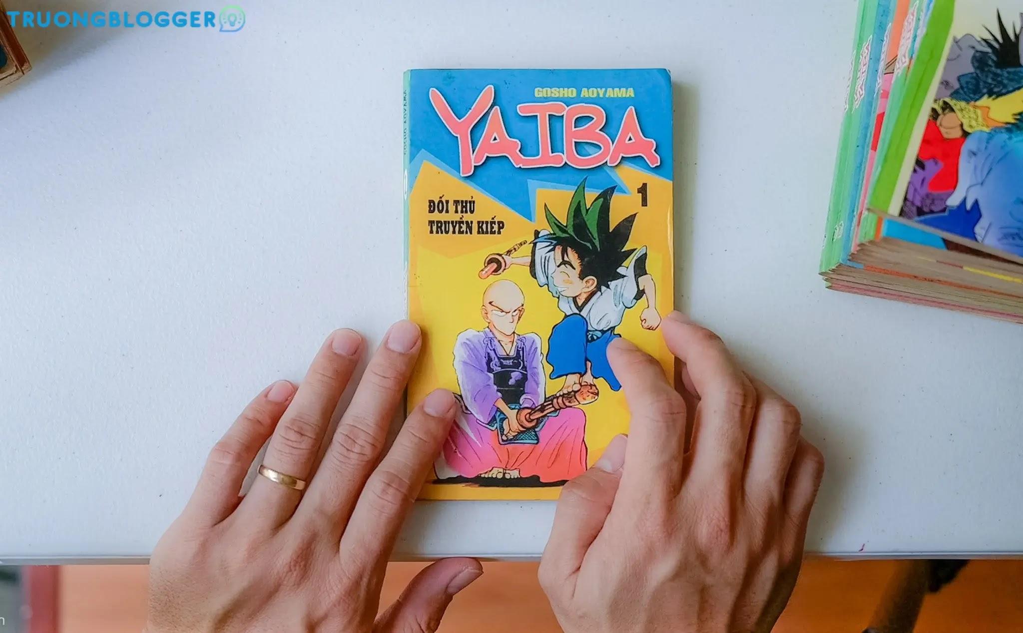 Chia sẻ trọn bộ truyện tranh Yaiba File PDF