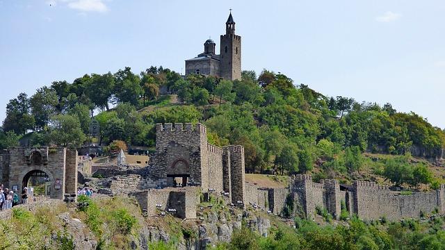 Fortaleza Tsarevts, Veliko Tarnovo Bulgaria