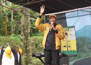 Caleg Berikan Pendidikan Politik, MUHLIS HASIM, M.Si; Turun Kampanye Sambil Memberikan Pendidikan Politik