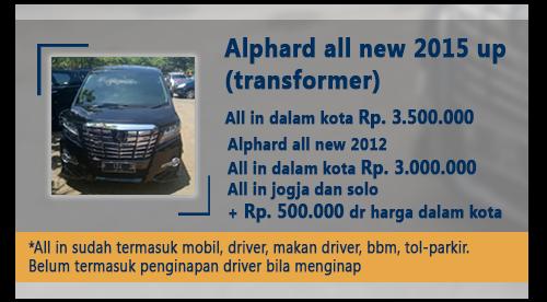 Sewa Alphard Semarang