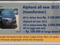 Sewa Alphard Semarang - Fajar Utama