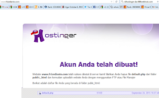 Fake Hosting Alias Hosting Palsu