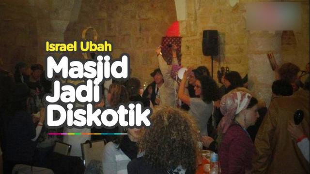 Israel Ubah Masjid al-Ahmar Jadi Bar, Umat Muslim Geram!